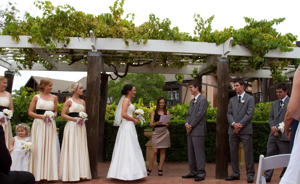 Winery Wedding Ceremony Margaret River
